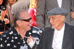 Dennis Hopper,Jack Nicholson Stock Photo