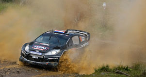 Dennis Kuipers - Ford Fiesta RS WRC Stock Images