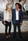 Dennis Quaid and Kimberly Buffington Royalty Free Stock Photo