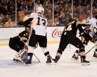 Dennis Seidenberg, Boston Bruins defenseman Στοκ φωτογραφία με δικαίωμα ελεύθερης χρήσης