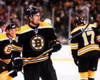 Dennis Seidenberg, defenseman, Boston Bruins Royalty Free Stock Photos
