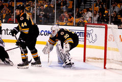 Dennis Seidenberg and Tim Thomas Stock Photography