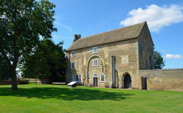 Denny Abbey. Waterbeach, Cambridgeshire, England - August 03, 2014: Denny Abbey Former home to Benedictine Monks then elderly Knights Templars then Franciscan stock photos