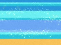 Denny błękit macha tło z tekstylną teksturą płótno Zdjęcie Royalty Free