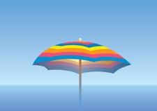 denny elegancki parasol Zdjęcie Royalty Free