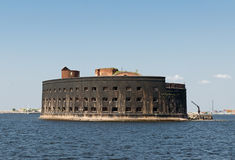 Denny fort Kronstadt Obraz Royalty Free