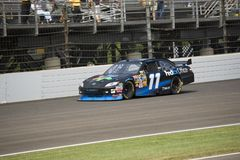 Denny Hamlin. Drives his number 11 Toyota Camry during the NASCAR Brickyard 400 on July 27 2008 at the Indianapolis Motor Speedway Stock Images