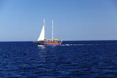 denny jacht Fotografia Royalty Free
