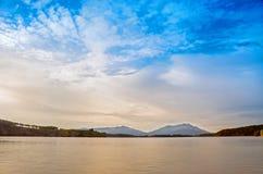 Denny jezioro Obraz Royalty Free