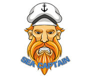 Denny kapitan Royalty Ilustracja