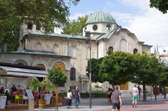 Denny kościół w Varna, Bułgaria zdjęcie royalty free
