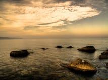 denny krajobrazu słońca Zdjęcia Stock