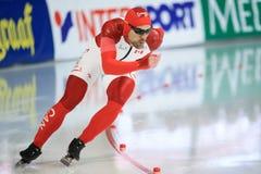 Denny Morrison - speed skating Royalty Free Stock Image