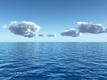 denny niebo ilustracja wektor