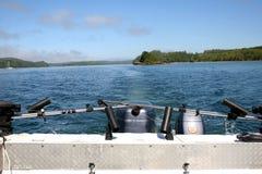 denny łodzi stern Obraz Royalty Free