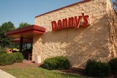 Denny Resturant gość restauracji Obraz Royalty Free