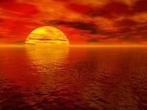 denny słońca obrazy royalty free