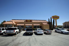 DENNY'S RESTAURANT Royalty Free Stock Photography