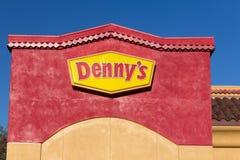 Denny's Restaurant Stock Image