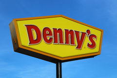 Denny s Restuarant Sign Stock Photography