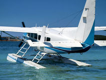 Denny samolot Obrazy Royalty Free