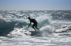 Denny surfing Zdjęcie Stock