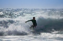 Denny surfing Obraz Royalty Free