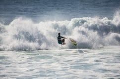 Denny surfing Zdjęcia Stock