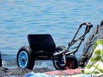 Denny wózek inwalidzki Obraz Royalty Free