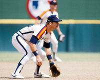 Denny Walling Houston Astros Royaltyfri Fotografi