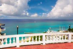 Denny widok Jamajka wyspa, Montego Bay obrazy royalty free