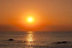 denny wschód słońca Zdjęcia Royalty Free