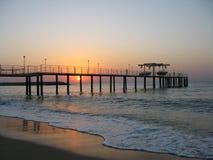 denny wschód słońca Fotografia Royalty Free