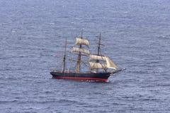 Denny Wysoki statku otwarte morze Zdjęcia Stock