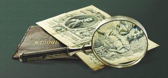 Denominação antiga do russo Foto de Stock Royalty Free