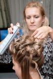 Denominação do cabelo Fotos de Stock Royalty Free