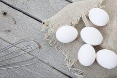Denominação rústica do ovo foto de stock royalty free