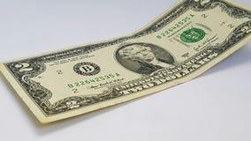 Denominación dos dólares foto de archivo libre de regalías