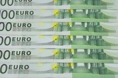 Denominaciones euro Fotos de archivo libres de regalías