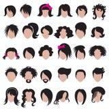 Denominação do cabelo Imagem de Stock Royalty Free