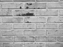 Black and white bricks stock photography