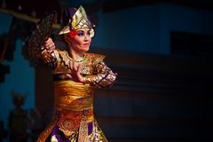 Traditional Balinese dance Royalty Free Stock Photos