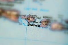 Denpasar, a city in Indonesia. Denpasar, a city in the Republic of Indonesia selective focus royalty free stock photos