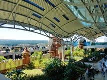 Denpasar International Airport in Bali, Indonesia Stock Photos