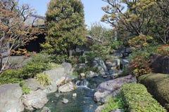 Denpo-in in Asakusa during cherry blossom on. Asakusa Denpoin Gardens Tokyo's Hidden Gem royalty free stock photos