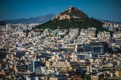 Dense area of Athens, Greece Stock Photos