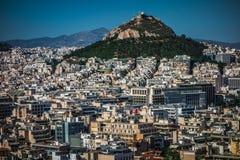 Dense area of Athens, Greece Stock Photos