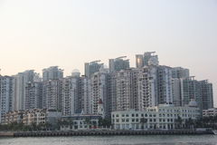 Dense city residential in SHENZHEN,CHINA,ASIA Stock Photo
