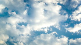 Dense cloud moving stock footage