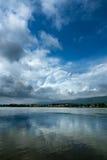 Dense cloud in the sky Stock Photos